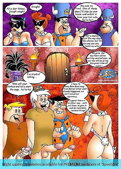 Flintstones orgy - part 3601