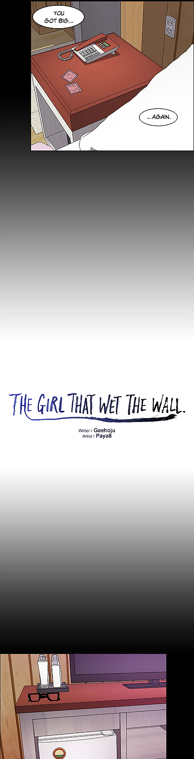The Girl That Wet the Wall..