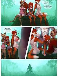 Little Red Riding Deer