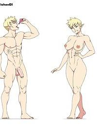 Artist - Ichan - Male & Female - part 3