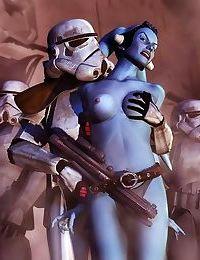 Star wars porn cartoons - part 3839