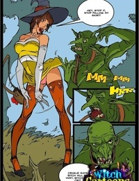 Sorceresss twat offered to ogre - part 3777