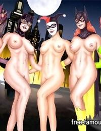 Dark knight batman orgies